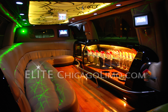 Chicago's coolest party limo