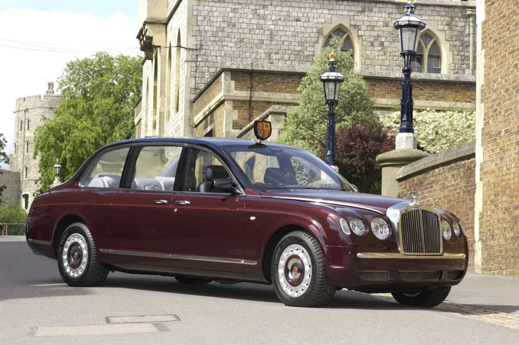 Bentley State Limousine Queen Elizabeth Fleet